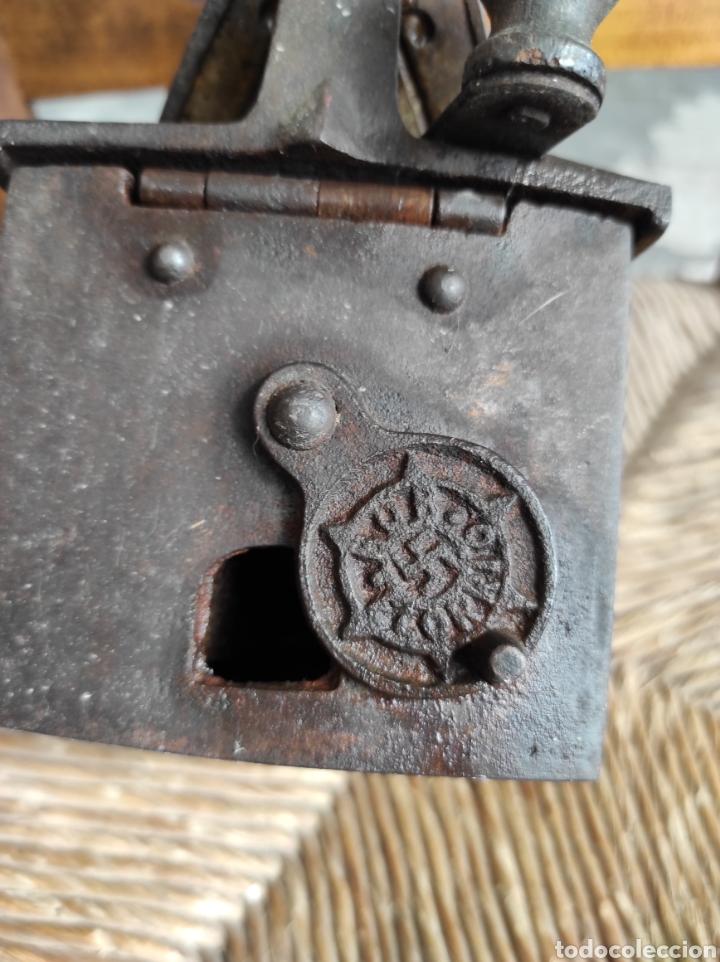 Antigüedades: ANTIGUA PLANCHA CON ESVASTICA FINALES XIX - Foto 9 - 252494040