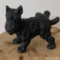 Antiquités: FOX TERRIER DE HIERRO COLADO SUJETAPUERTAS. Lote 252500835