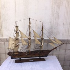 Antigüedades: MAQUETA DE BARCO-FRAGATA XVIII. Lote 252517240