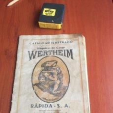 Antigüedades: CATÁLOGO MÁQUINAS DE COSER WERTHEIM. Lote 252518305