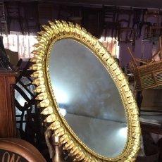 Antigüedades: ESPEJO VINTAGE DE FORJA. Lote 252556480