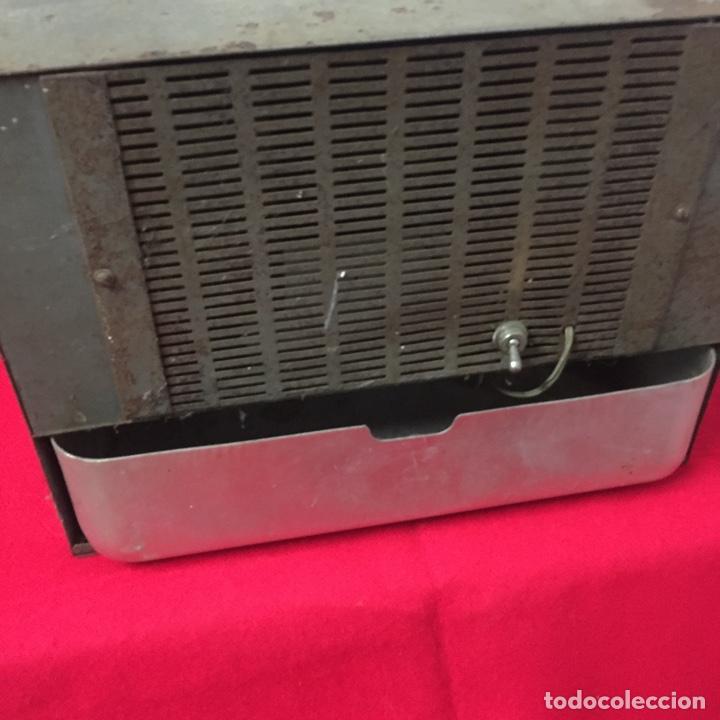 Antigüedades: Ventilador aire acondicionado marca Hurricane - años 60, vintage - Foto 3 - 252658830