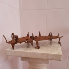 Antigüedades: ANTIGUO CRAPON PARA LA NIEVE. Lote 252677220