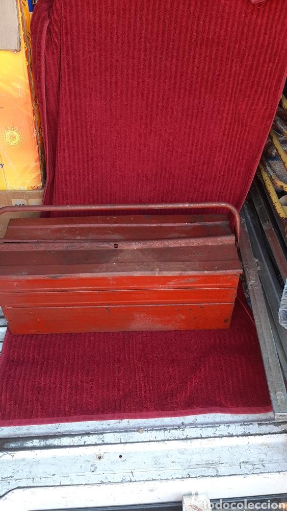 Antigüedades: antigua caja herramienta ITAL de 1960 - Foto 2 - 252701015