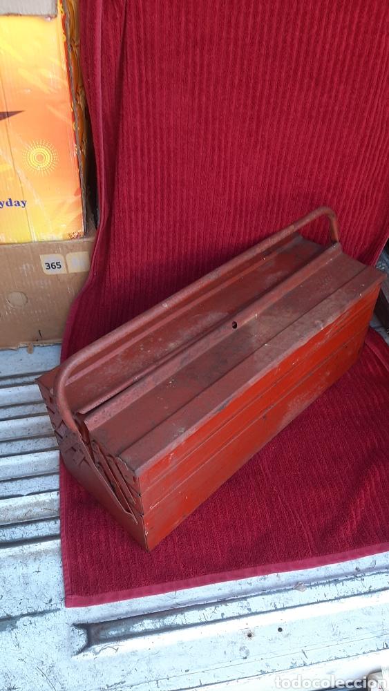 Antigüedades: antigua caja herramienta ITAL de 1960 - Foto 3 - 252701015