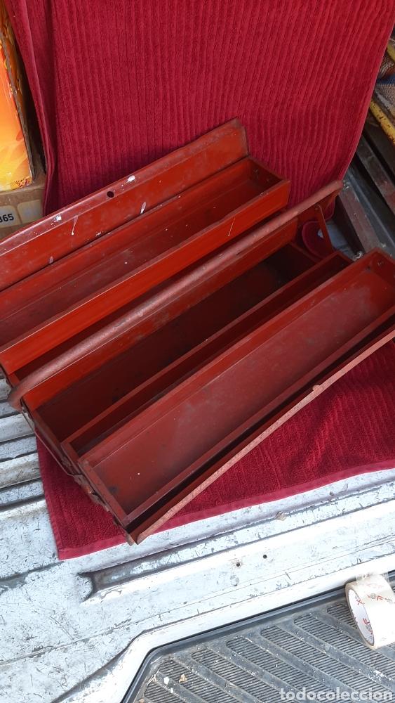 Antigüedades: antigua caja herramienta ITAL de 1960 - Foto 5 - 252701015