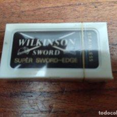 Antigüedades: HOJILLAS AFEITAR WILKINSON SWORD (PRECINTADA). Lote 252769715