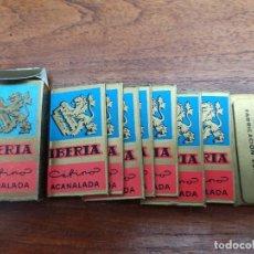 Antigüedades: HOJILLAS AFEITAR IBERIA. Lote 252770395