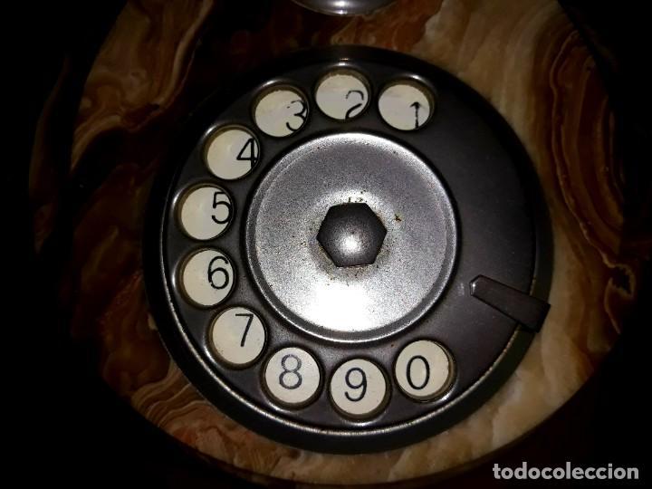 Teléfonos: Teléfono Vintage Onix Telmar Oro Plateado 18 Kilates - Foto 4 - 252811495