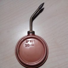 Antigüedades: ACEITERA PARA MAQUINA DE COSER N 101. 20 C. Lote 252820940