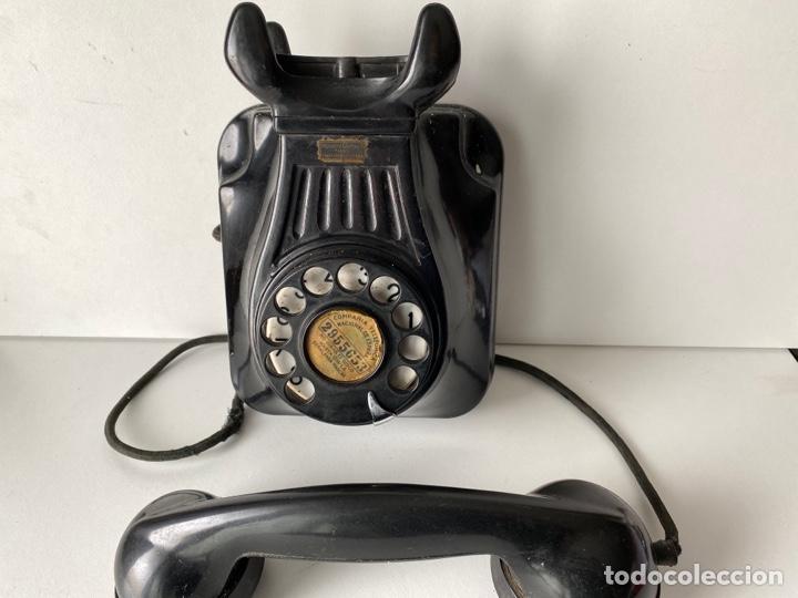 Teléfonos: Telefono de baquelita pared - Foto 3 - 252826790