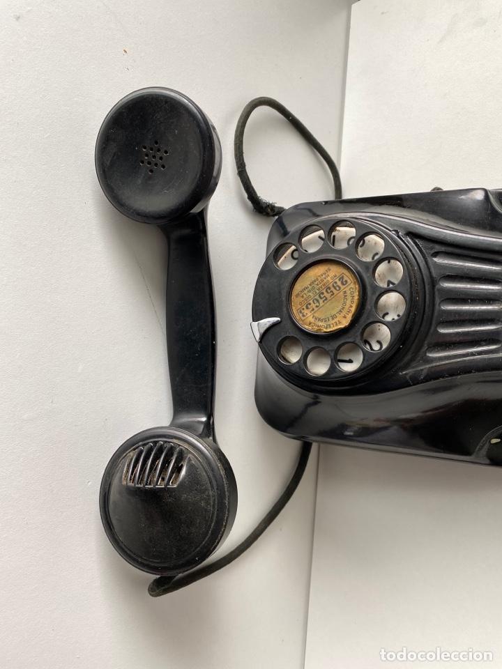 Teléfonos: Telefono de baquelita pared - Foto 4 - 252826790