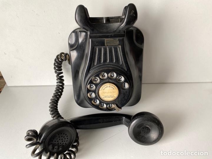 Teléfonos: Telefono de baquelita pared - Foto 5 - 252826790