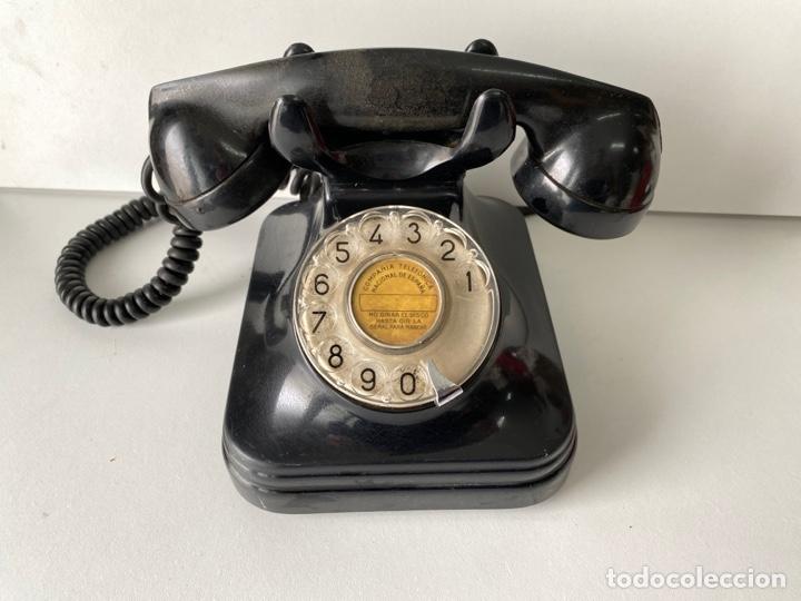 TELEFONO ANTIGUO DE MESA (Antigüedades - Técnicas - Teléfonos Antiguos)