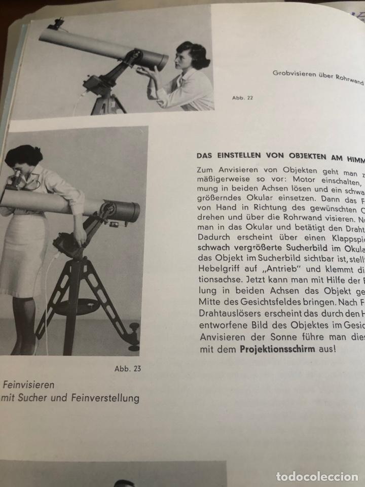 Antigüedades: Telescopio alemán de 1961. Spiegel fernrohr 100 - Foto 6 - 252921250