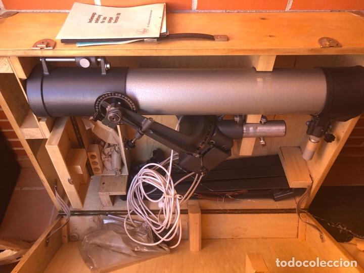 TELESCOPIO ALEMÁN DE 1961. SPIEGEL FERNROHR 100 (Antigüedades - Técnicas - Otros Instrumentos Ópticos Antiguos)
