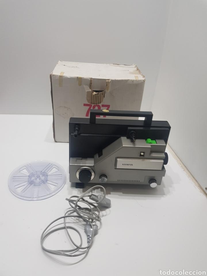 ANTIGUO PROYECTOR KRISPER 8MM (Antigüedades - Técnicas - Aparatos de Cine Antiguo - Proyectores Antiguos)