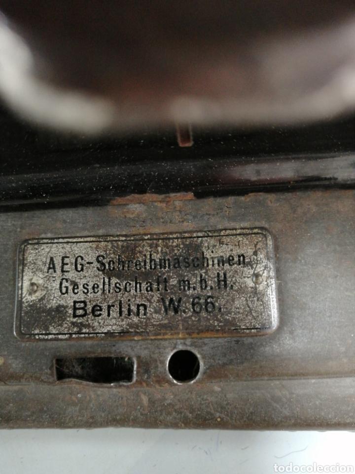Antigüedades: Máquina de escribir alemana Mignon - Foto 6 - 252966035