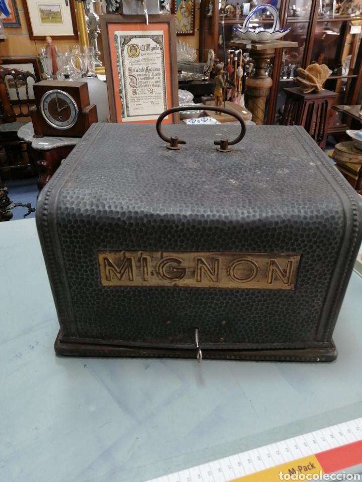MÁQUINA DE ESCRIBIR ALEMANA MIGNON (Antigüedades - Técnicas - Máquinas de Escribir Antiguas - Mignon)