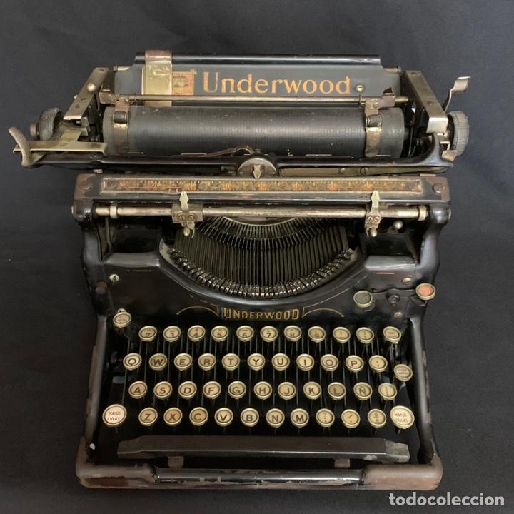 PRECIOSA MÁQUINA DE ESCRIBIR AÑOS 20-30 UNDERWOOD (Antigüedades - Técnicas - Máquinas de Escribir Antiguas - Underwood)