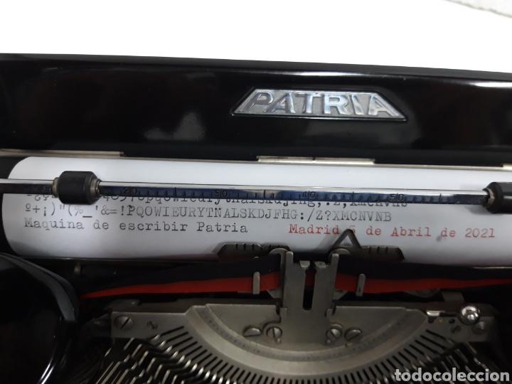 Antigüedades: Maquina de escribir PATRIA - Foto 5 - 252991815