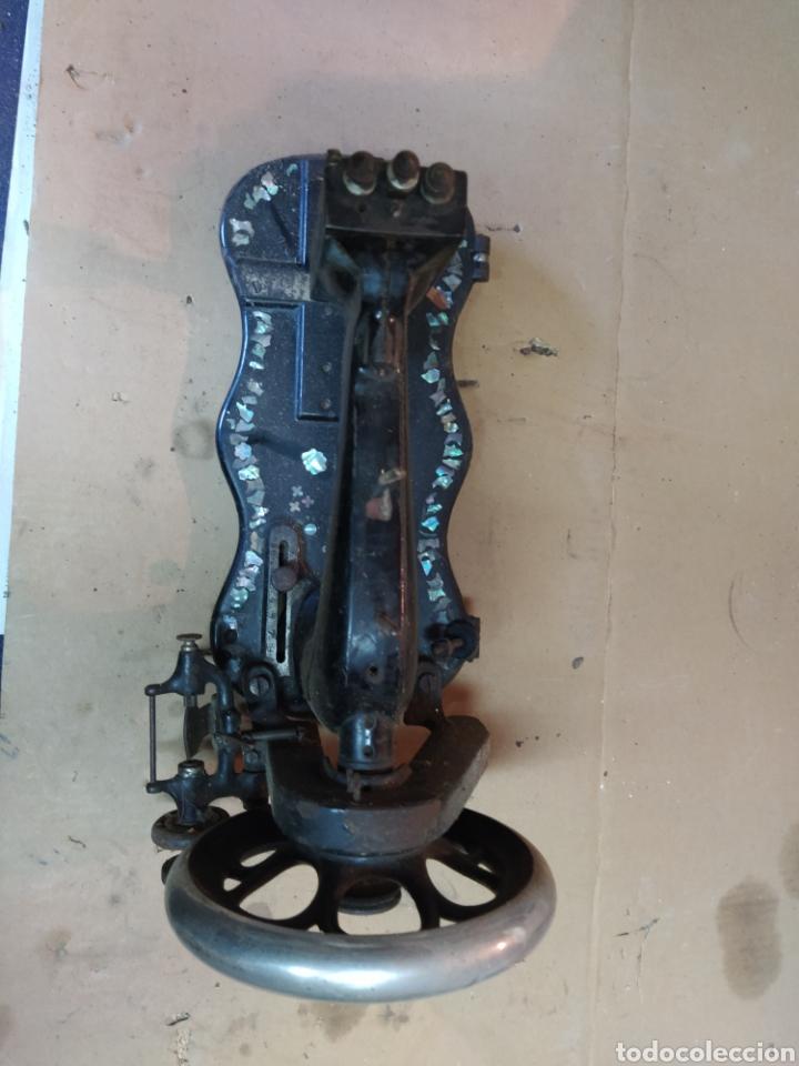 Antigüedades: Máquina de coser Wertheim - Foto 3 - 253009265