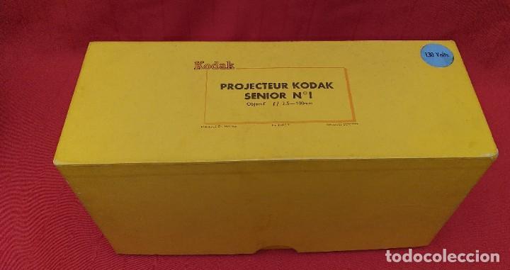 Antigüedades: PROYECTOR DE DIAPOSITIVAS KODAK SENIOR - Foto 9 - 253140120