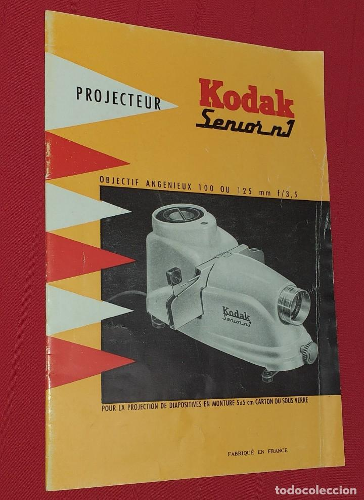 Antigüedades: PROYECTOR DE DIAPOSITIVAS KODAK SENIOR - Foto 10 - 253140120