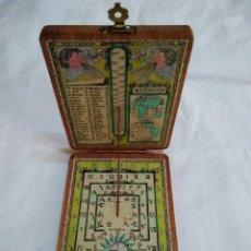 Antigüedades: ANTIGUO RELOJ DE SOL Y BRÚJULA DE BOLSILLO (MADE IN JAPAN). Lote 253234040