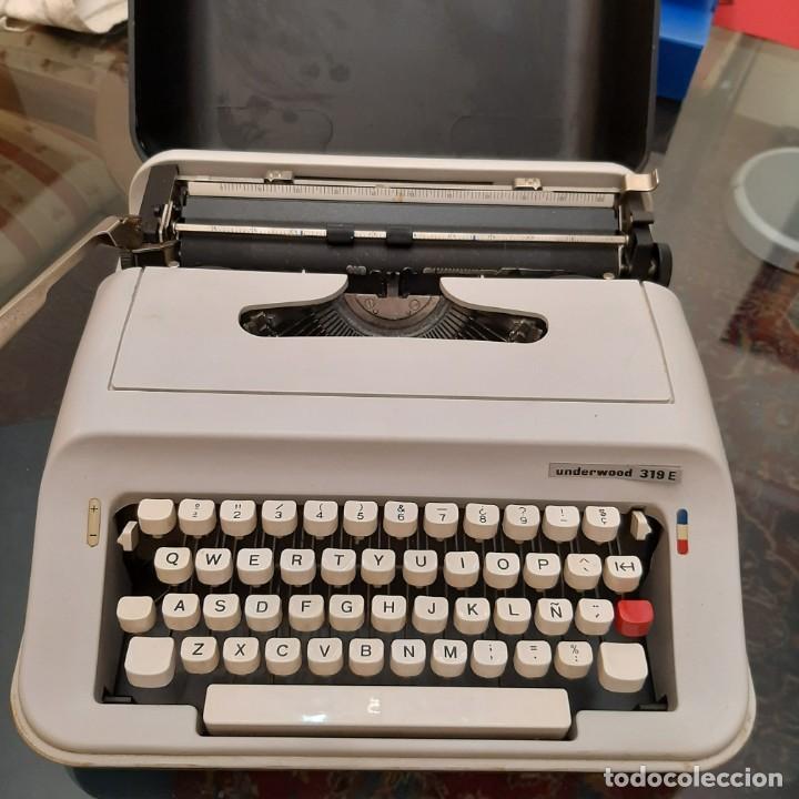 MÁQUINA DE ESCRIBIR UNDERWOOD E319 (Antigüedades - Técnicas - Máquinas de Escribir Antiguas - Continental)