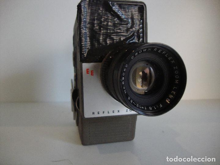Antigüedades: FILMADORA CROWN 8 NO COMPROBADA A REPASAR - Foto 3 - 253587405