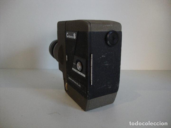 Antigüedades: FILMADORA CROWN 8 NO COMPROBADA A REPASAR - Foto 4 - 253587405