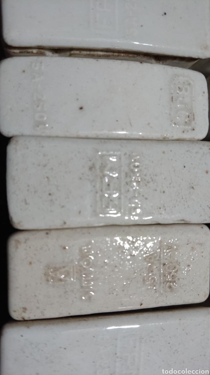 Antigüedades: Antiguos Fusibles de Cerámica y caja de Fusibles - Foto 2 - 253596420