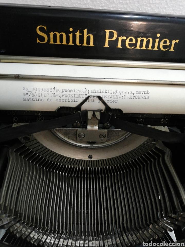 Antigüedades: Antigua máquina de escribir Smith Premier.America. Modelo 60. Año 1.926. - Foto 3 - 253633160