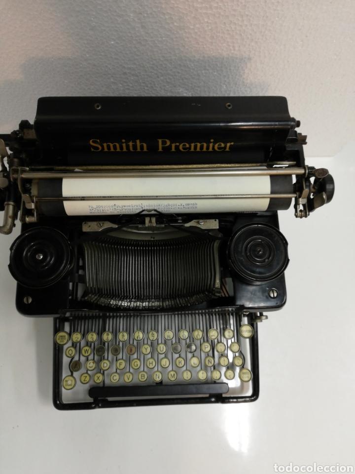 Antigüedades: Antigua máquina de escribir Smith Premier.America. Modelo 60. Año 1.926. - Foto 4 - 253633160