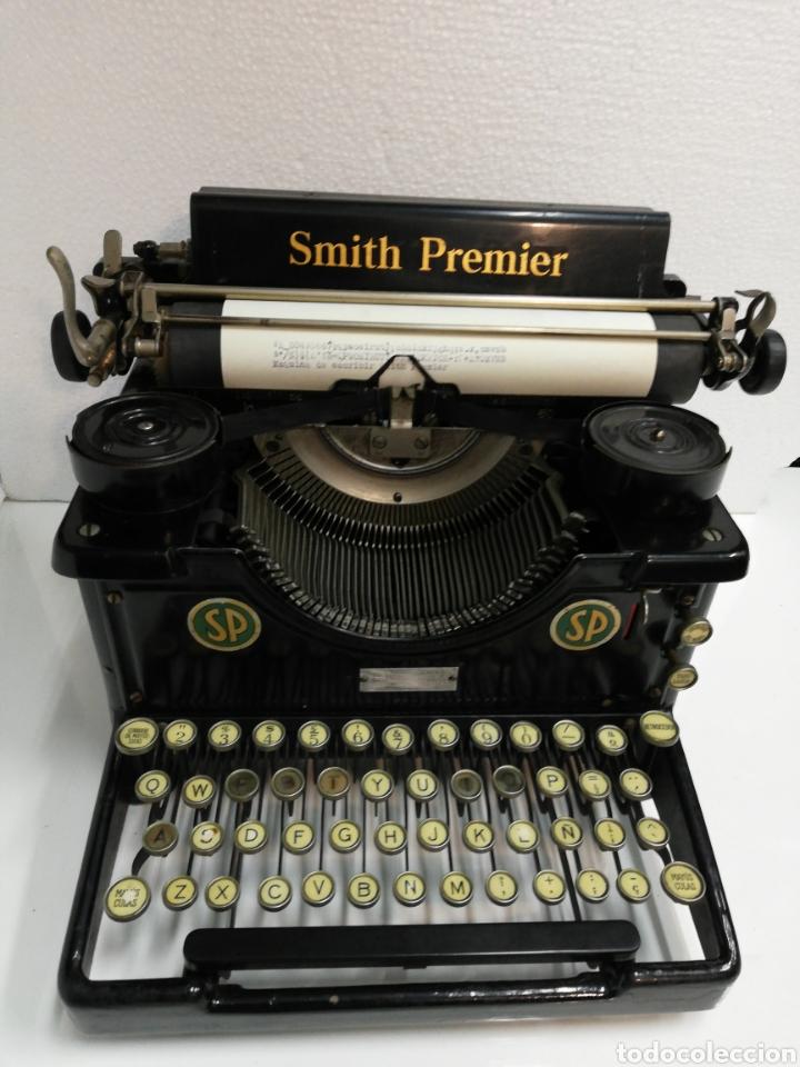 ANTIGUA MÁQUINA DE ESCRIBIR SMITH PREMIER.AMERICA. MODELO 60. AÑO 1.926. (Antigüedades - Técnicas - Máquinas de Escribir Antiguas - Smith)