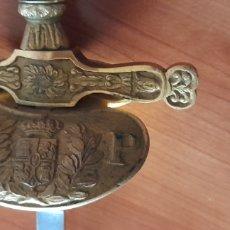 Antiquités: ESPADA 90 CM. ANTIGUA FÁBRICA DE TOLEDO ( C. P. ) CON FUNDA. VER FOTOS Y DESCRIPCIÓN.. Lote 253686085