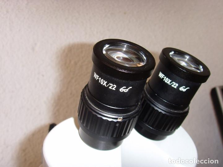 Antigüedades: MICROSCOPIO BMS 74955 - Foto 4 - 253739450