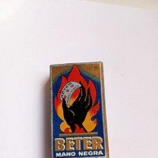 Antigüedades: BETER , MANO NEGRA , PAQUETE HOJAS DE AFEITAR. Lote 253829240