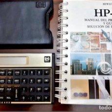 Antigüedades: CALCULADORA FINANCIERA Y CIENTÍFICA HP 12 C. HEWLETT PACKARD. CON FUNDA Y LIBRO. Lote 253897205