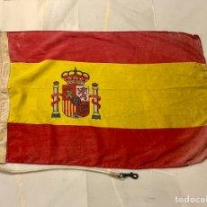 Antigüedades: ANTIGUA BANDERA BARCO , PATRULLERA ARMADA ESPAÑOLA. Lote 253930765