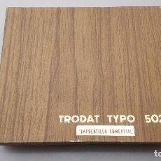 Antigüedades: IMPRENTILLA COMERCIAL TRODAT TYPO 502. Lote 253956235