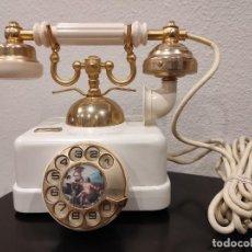 Teléfonos: ANTIGUO TELÉFONO CITESA ELASA BLANCO (MEDIADOS SIGLO XX) - MUY BUEN ESTADO!!!. Lote 254076800