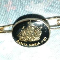 Antigüedades: ALFILER DE MARINA FRAGATA SANTA MARIA F 81. Lote 254099170