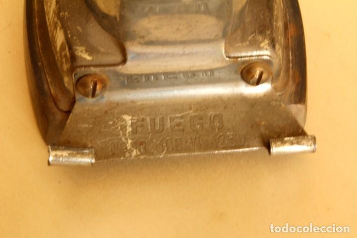 Antigüedades: ANTIGUA PLANCHA MARCA FUEGO - Foto 3 - 254156205