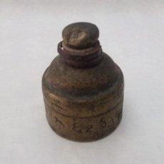Antigüedades: ANTIGUO PONDERAL DE BRONCE. Lote 254165395
