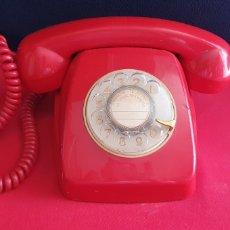 Téléphones: ANTIGUO TELEFONO ROJO ESPAÑOL CITESA-MALAGA .NO ESTA PROBADO. Lote 254176195