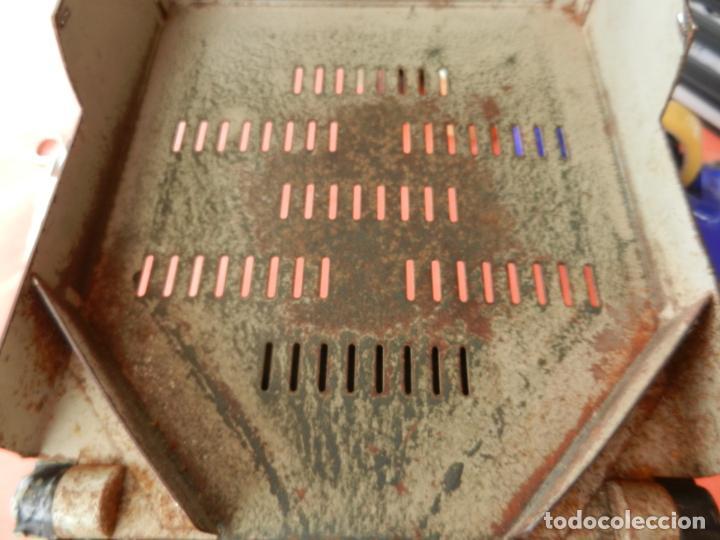 Antigüedades: ANTIGUA CONTADORA DE MONEDAS - MANIVELA - FABRICADA EN ITALIA - FUNCIONA - VER FOTOS. - Foto 6 - 254182450