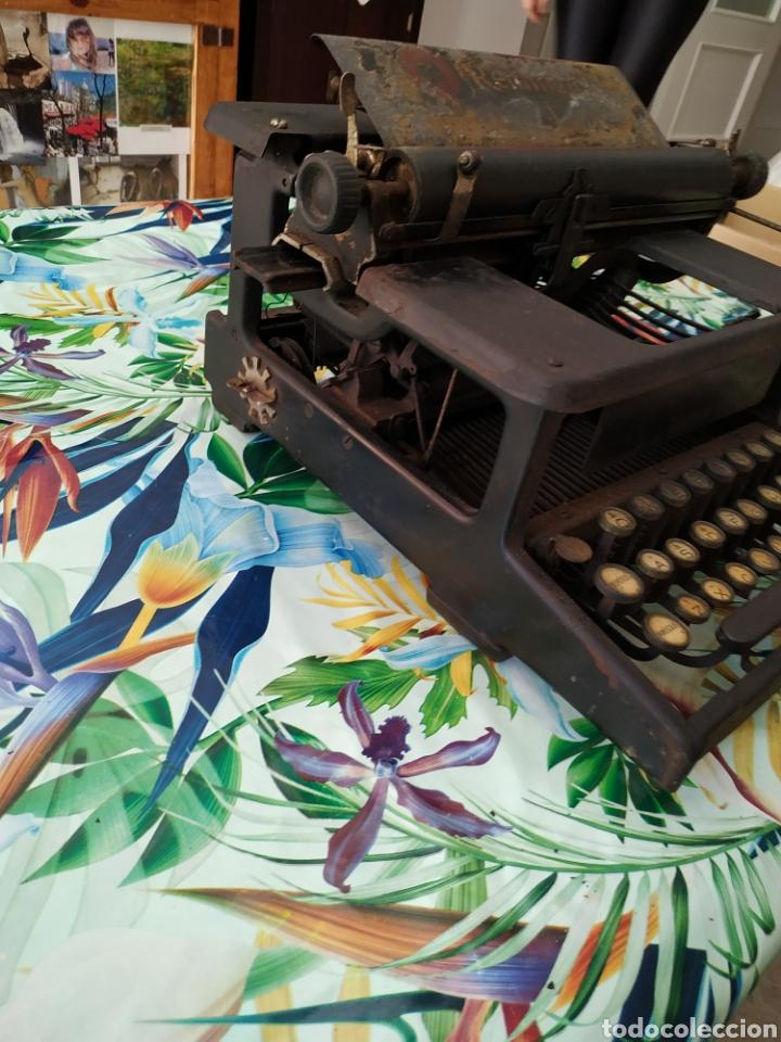 Antigüedades: Máquina de escribir, Remington J. Década 1910 - Foto 4 - 254209765