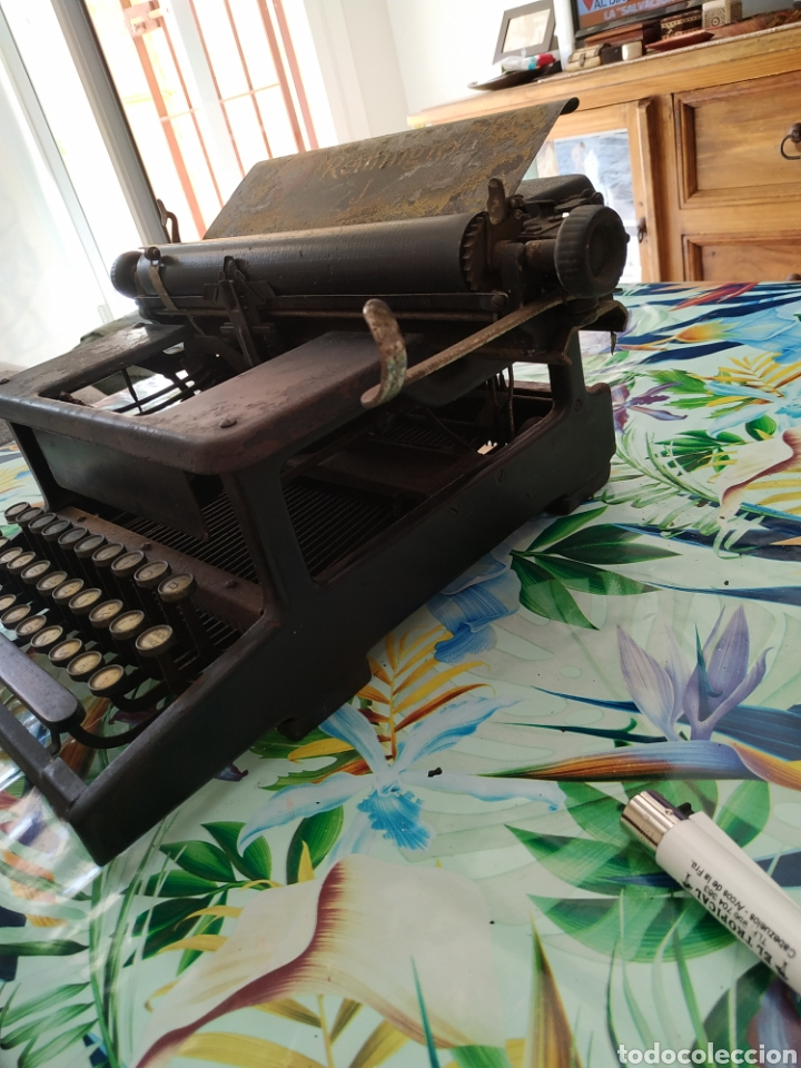 Antigüedades: Máquina de escribir, Remington J. Década 1910 - Foto 5 - 254209765